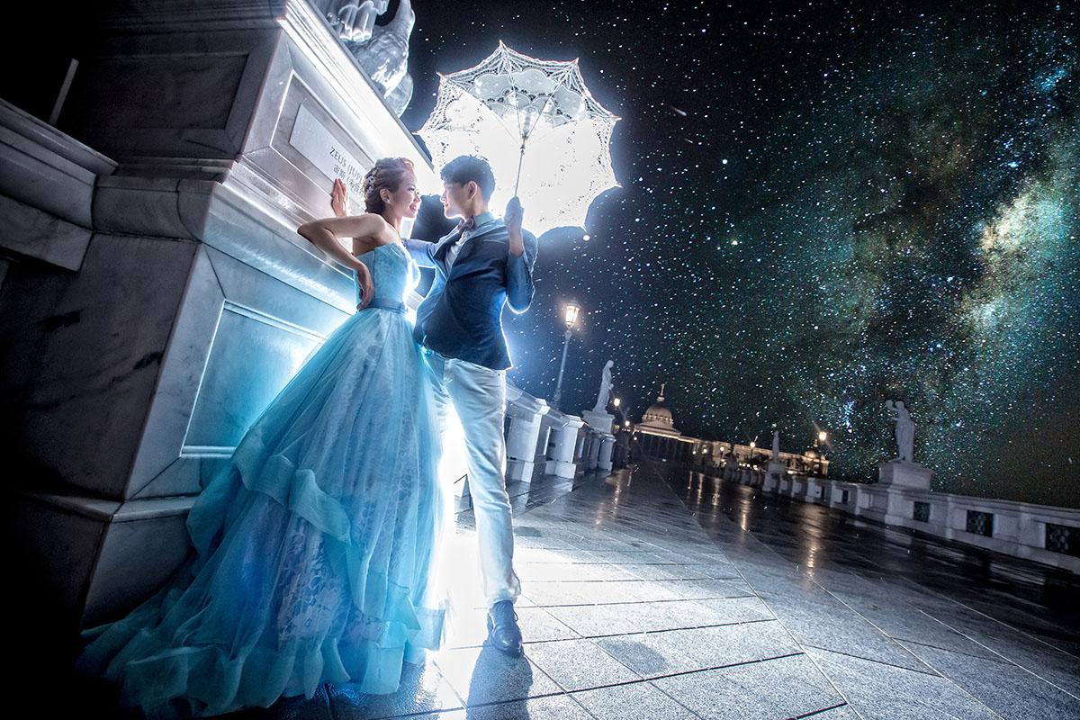 愛拍美照的新娘看過來!婚禮中可拍攝類婚紗的時機!