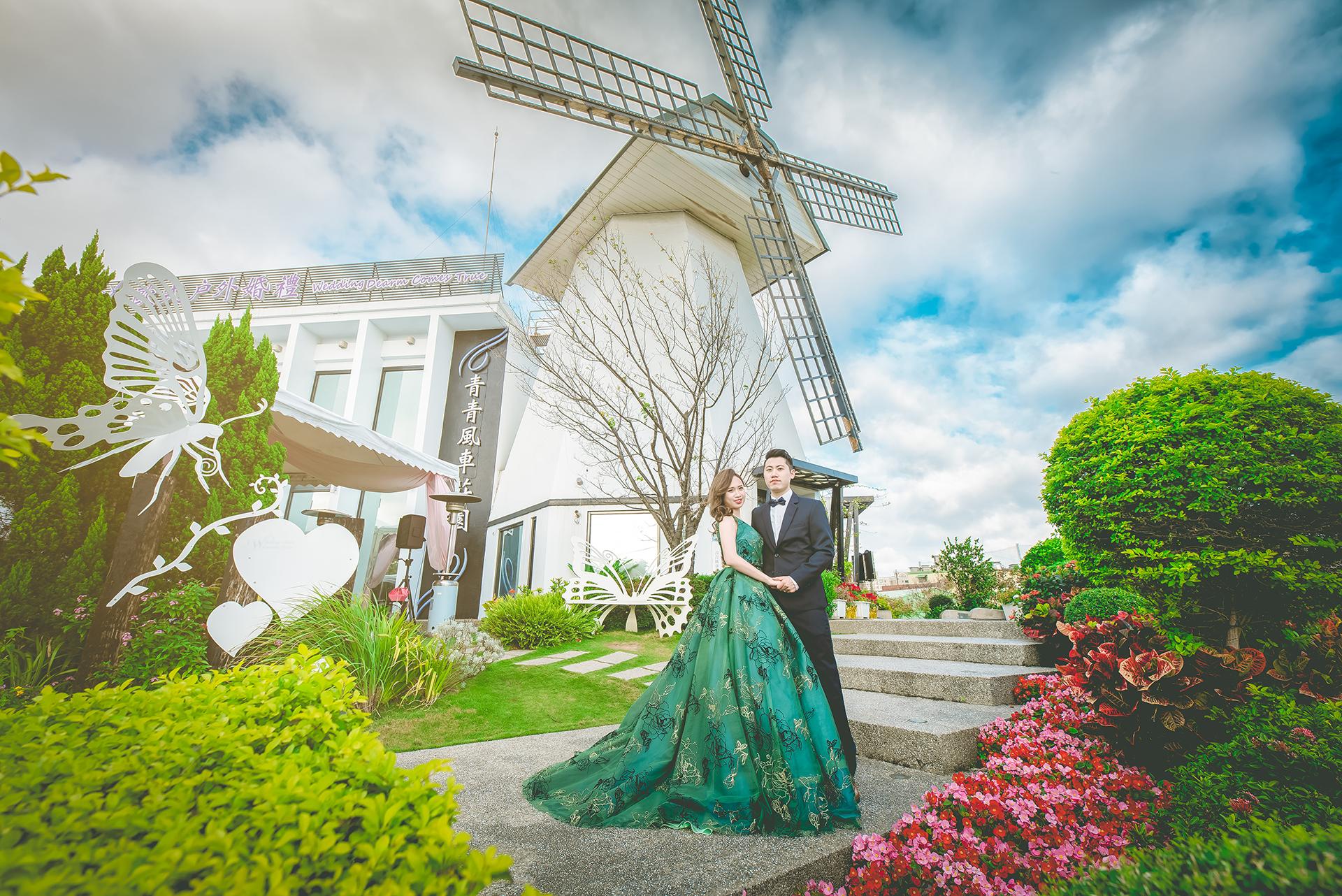 桃園青青風車莊園,婚禮紀錄,婚攝