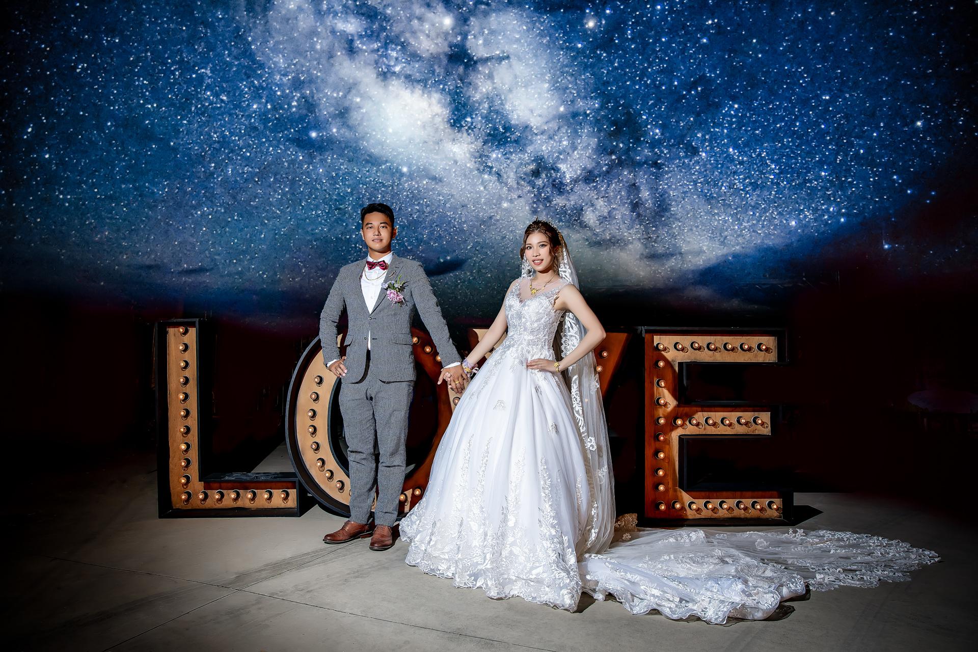 婚禮攝影 [來鑫❤欣蓉] 結婚之囍@台南新化崙頂里福德祠廣場