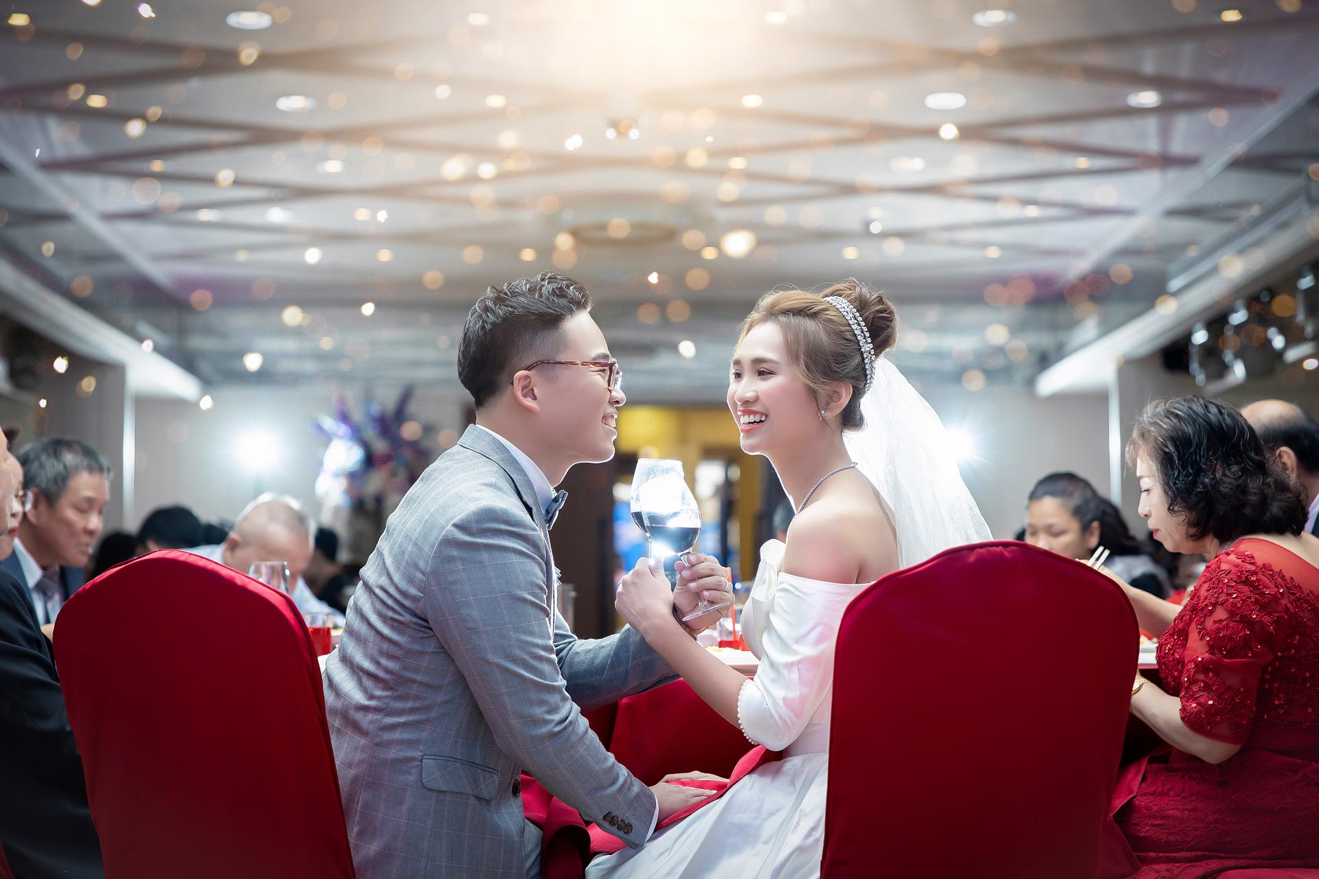 [少涵❤嬿婷] 結婚宴客@台中寶麗金市政店